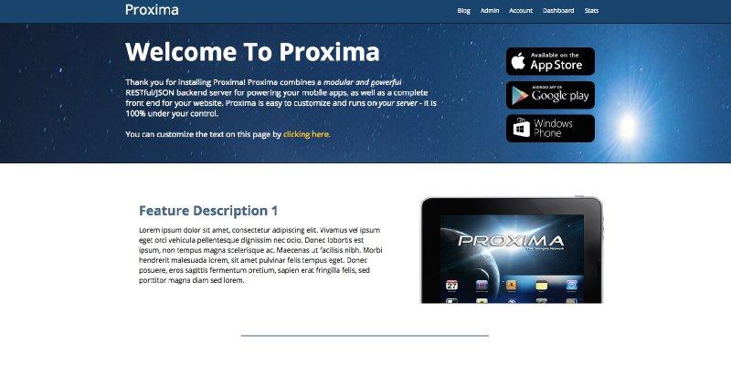 Proxima - Powerful API services
