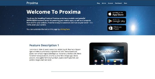 Proxima - Powerful API services