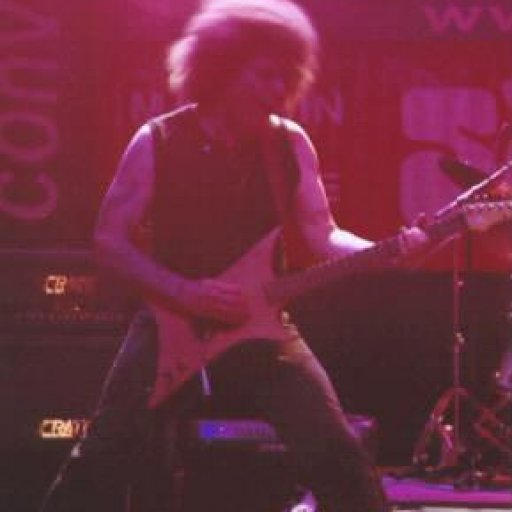 on guitar